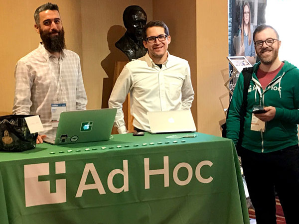 Photo of Ad Hoc sponsors Code for America Summit